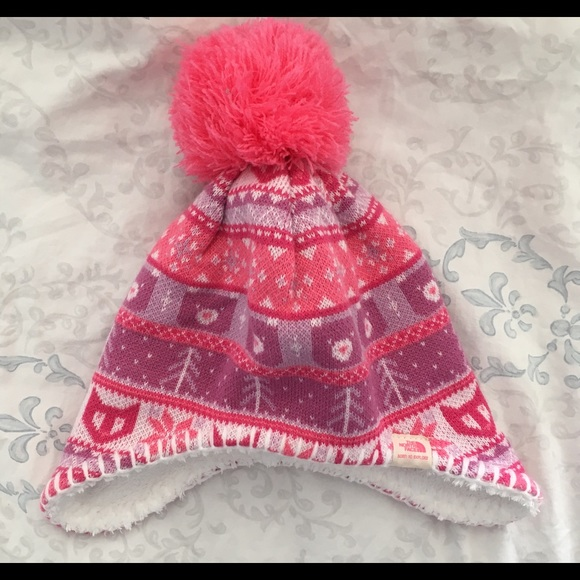 593dd78bf6b EUC North Face Infant Hat. M 5a9ad4c3caab44bc3eecaf2d